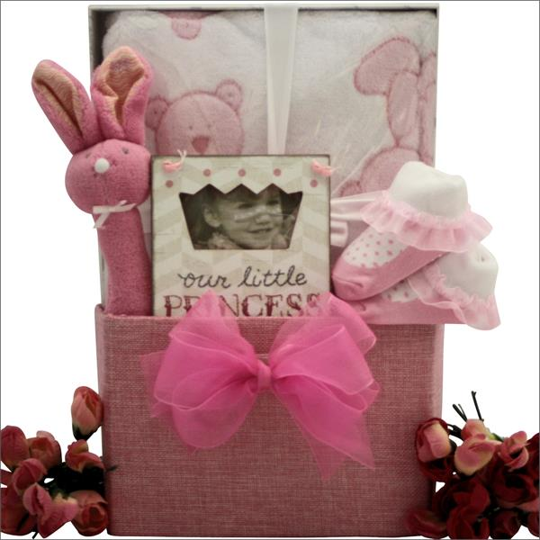 Baby Girl First Birthday Gift Box