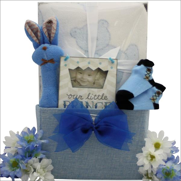Baby Boy First Birthday Gift Box