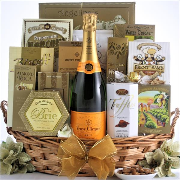Say It With Veuve Clicquot Champagne Gift Basket