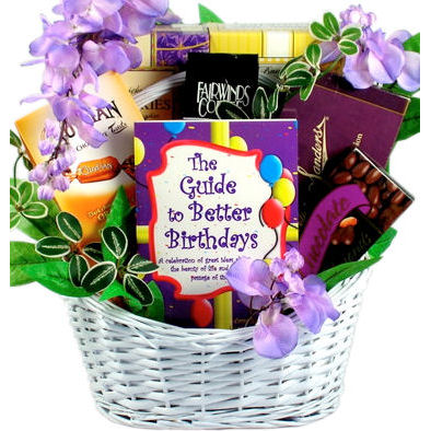 A Guide To Better Birthdays Gift Basket