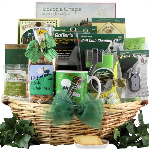 Her Day of Golf Gift Basket & Her Day of Golf Gift Basket - Baskets for Her