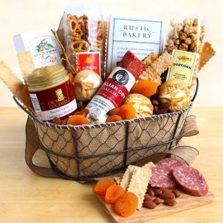 The Gourmand's Gourmet Gift Basket
