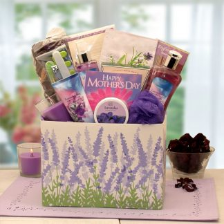 Mothers Day Moments Of Relaxation Lavender Spa Gift Box