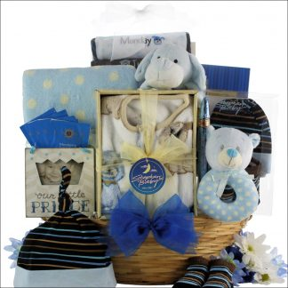 Babys First Birthday Baby Girl Gift Basket Welcome Home Boy
